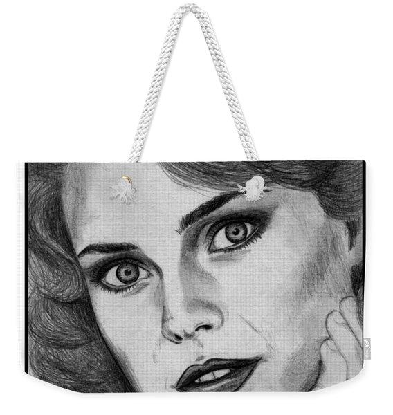 Carol Alt In 1985 Weekender Tote Bag