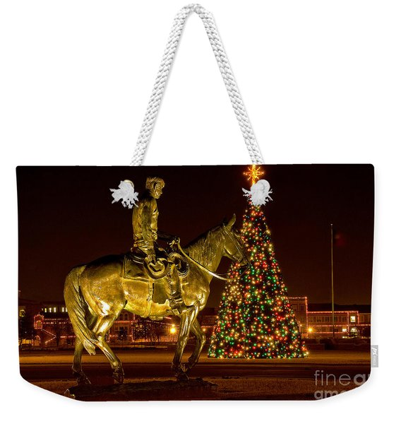Weekender Tote Bag featuring the photograph Carol Of Lights by Mae Wertz