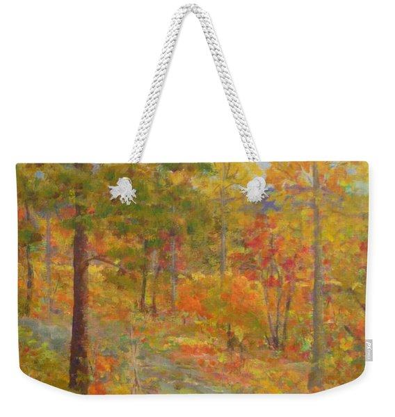 Carolina Autumn Gold Weekender Tote Bag