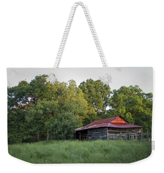 Carolina Horse Barn Weekender Tote Bag