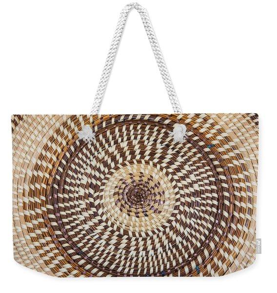 Carolina Sweetgrass Weekender Tote Bag