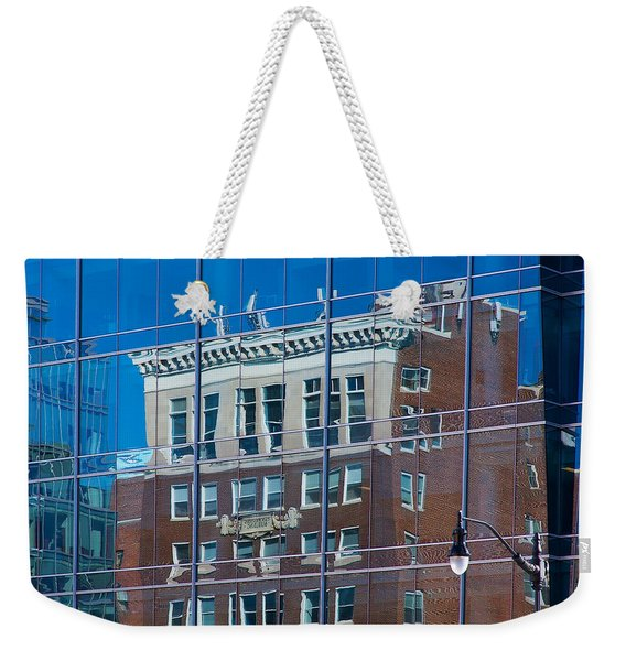 Carpenters Building Weekender Tote Bag