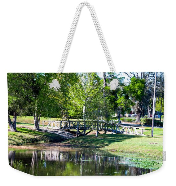 Carpenters Park 3 Weekender Tote Bag