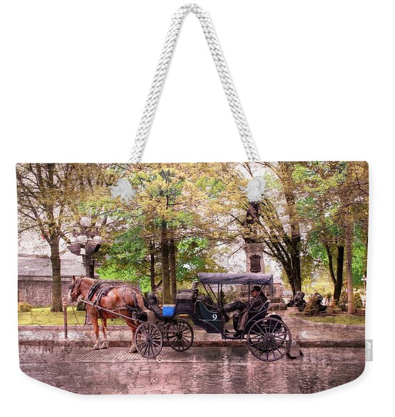 Carriage Rides Series 03 Weekender Tote Bag
