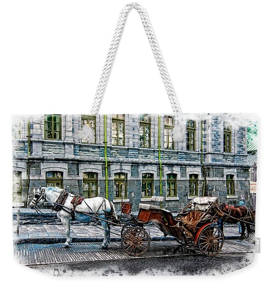 Carriage Rides Series 06 Weekender Tote Bag