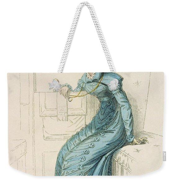 Carriage Dress, Fashion Plate Weekender Tote Bag