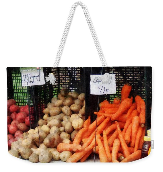 Carrots Potatoes And Honey Weekender Tote Bag