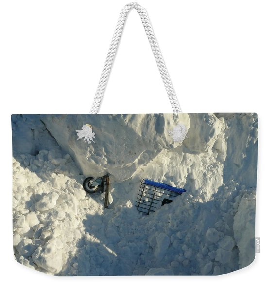 Cart Art No. 22 Weekender Tote Bag