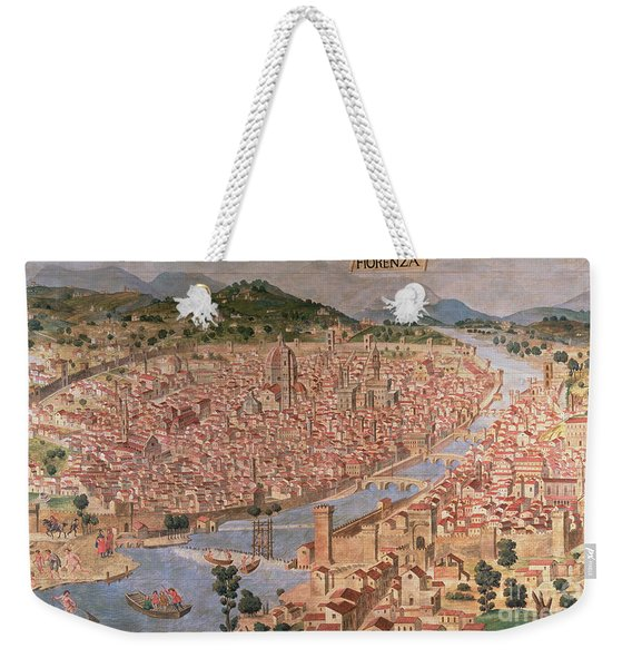 Carta Della Catena Weekender Tote Bag