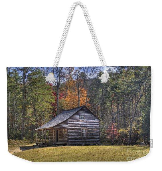 Carter-shields Cabin Weekender Tote Bag