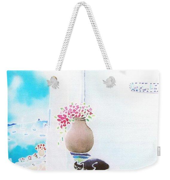 Casa Blanca Weekender Tote Bag