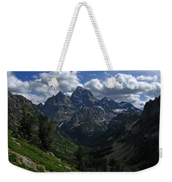 Cascade Canyon North Fork Weekender Tote Bag