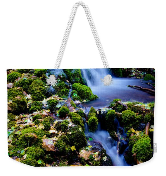 Cascade Creek Weekender Tote Bag