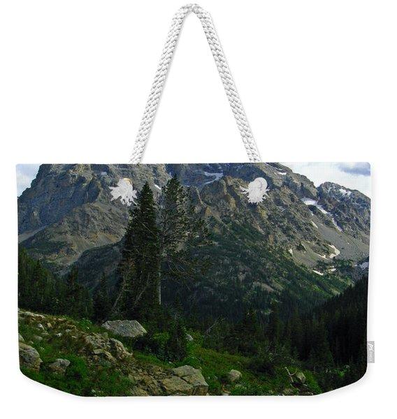 Cascade Creek The Grand Mount Owen Weekender Tote Bag