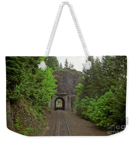 Cascades Tunnel 15 Weekender Tote Bag