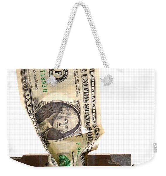 Cash Crunch Weekender Tote Bag