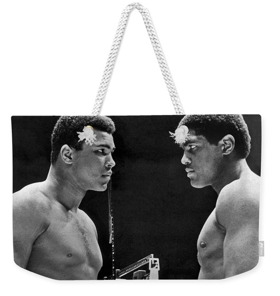 Cassius Clay Gives Whammy Eye Weekender Tote Bag