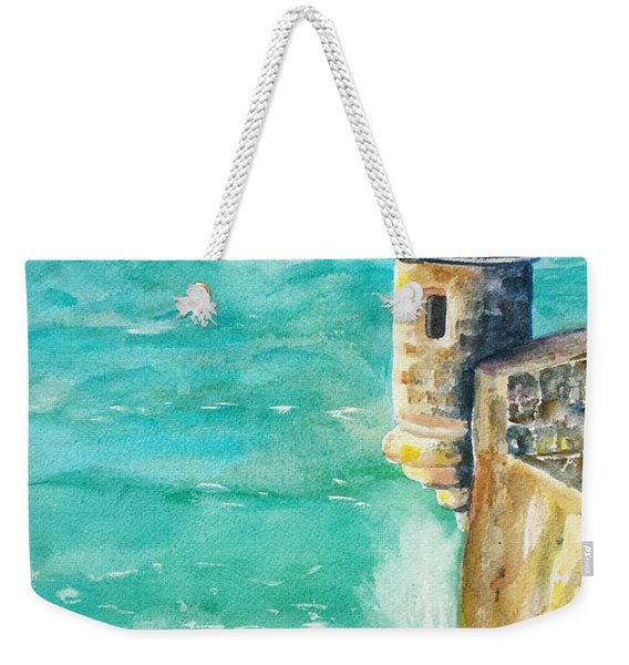 Castillo De San Cristobal Ocean Sentry  Weekender Tote Bag