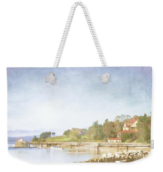 Castine Harbor Maine Weekender Tote Bag