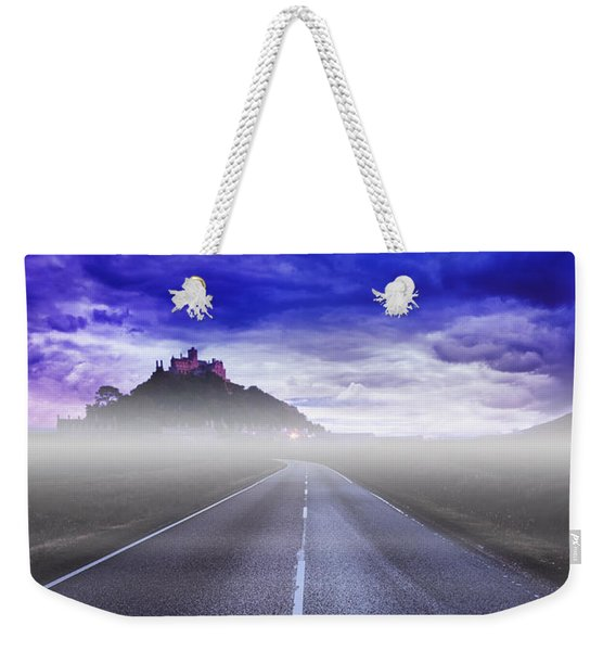 Castle On The Hill Weekender Tote Bag