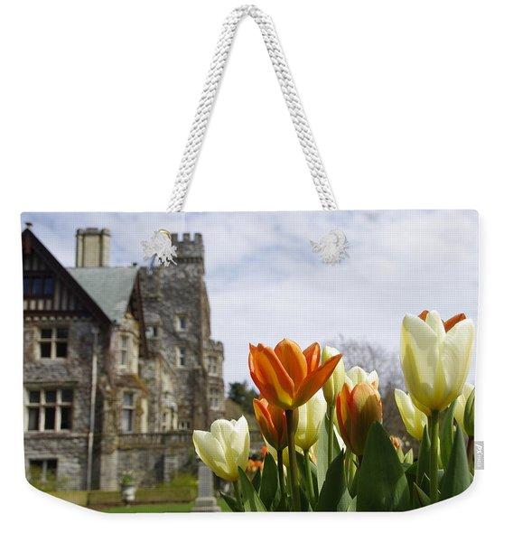 Castle Tulips Weekender Tote Bag