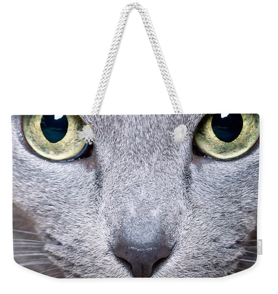 Cat Eyes Weekender Tote Bag