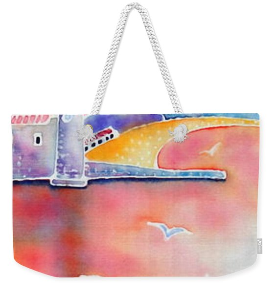 Catalan Sunset Weekender Tote Bag