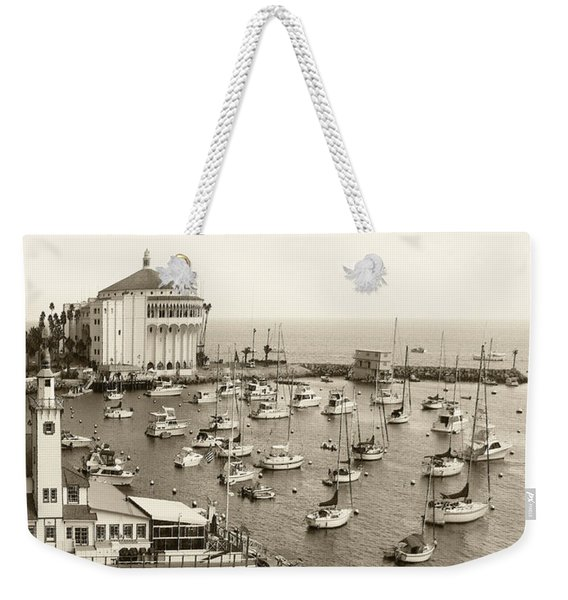 Catalina Island. Avalon Weekender Tote Bag