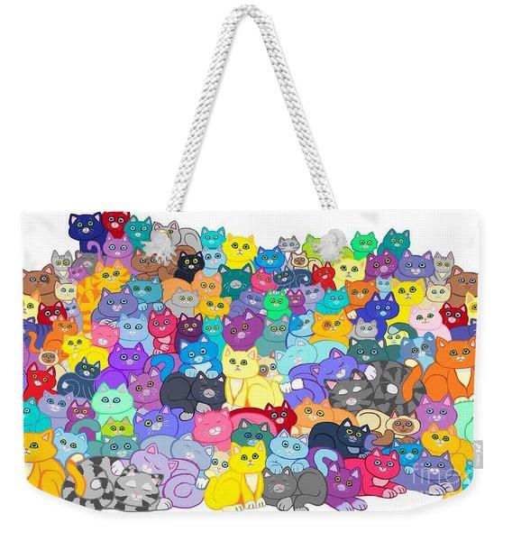 Catastrophy Weekender Tote Bag
