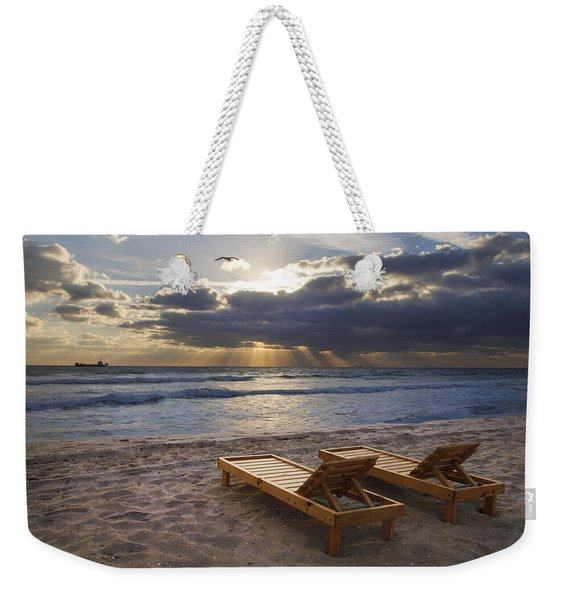 Catching Rays Weekender Tote Bag