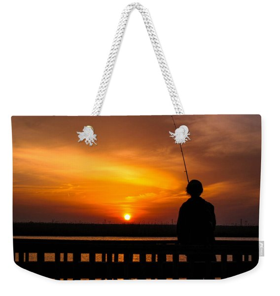 Catching The Sunset Weekender Tote Bag