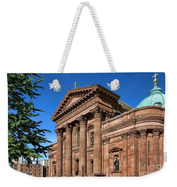 Cathedral Basilica Of Saints Peter And Paul Weekender Tote Bag