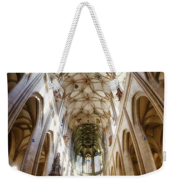 Cathedral Glow Weekender Tote Bag