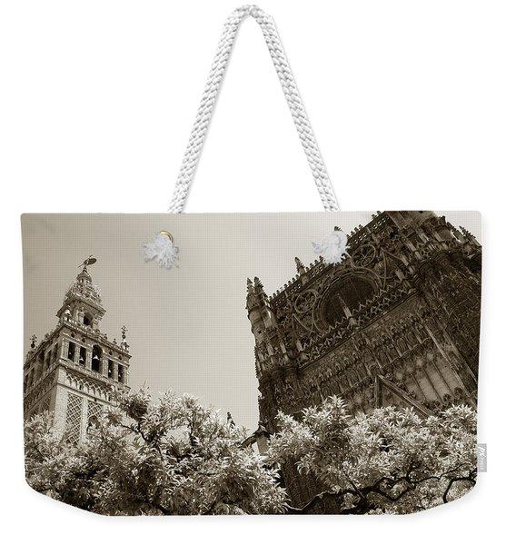 Cathedral Of Seville Weekender Tote Bag