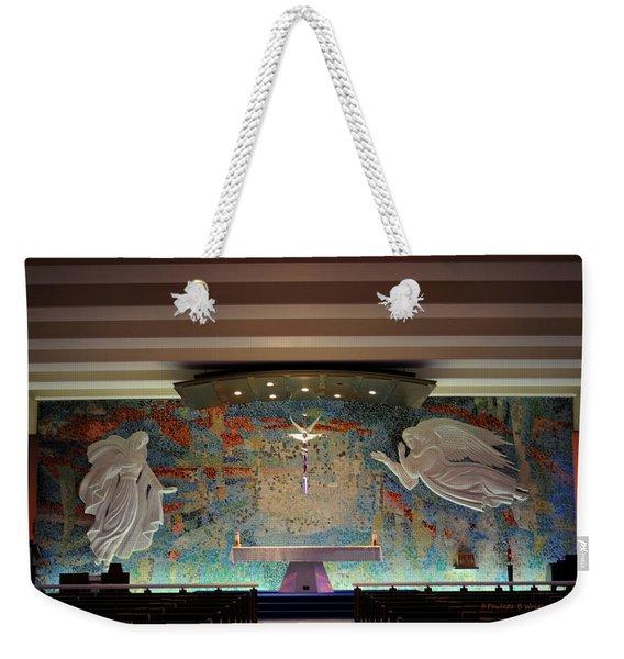Catholic Chapel At Air Force Academy Weekender Tote Bag