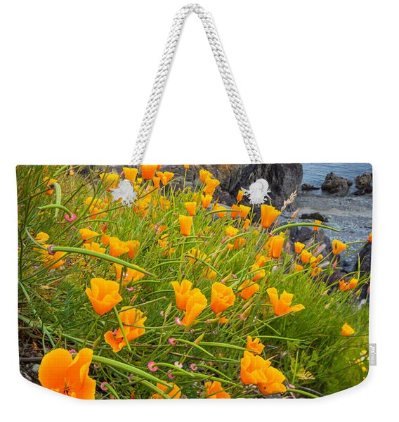 Cattle Point Poppies Weekender Tote Bag