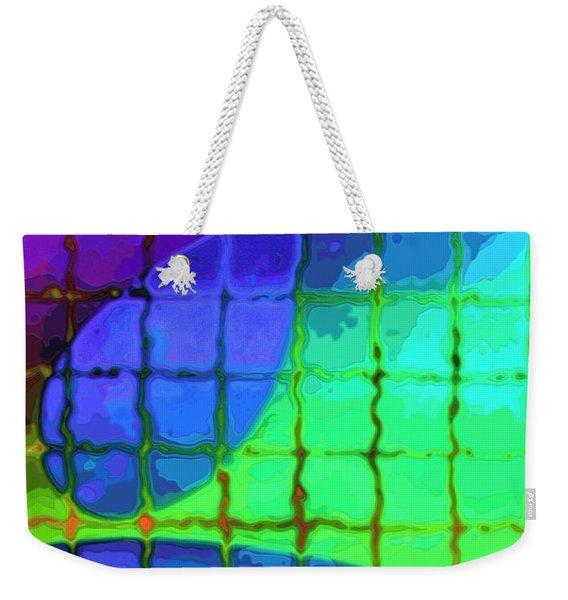 Caught In My Color Net On Venus Weekender Tote Bag