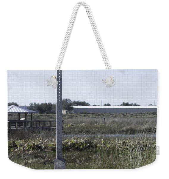 Caution Alligator Habitat Weekender Tote Bag