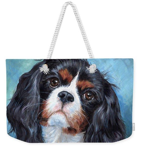 Cavalier King Charles Spaniel Weekender Tote Bag