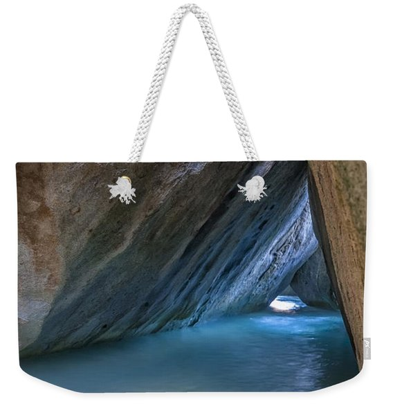 Cave At The Baths Weekender Tote Bag