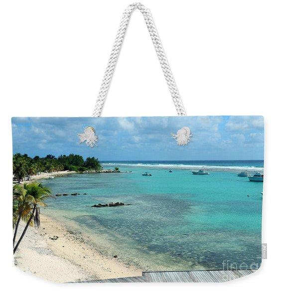 Cayman Beach Weekender Tote Bag