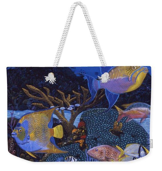 Cayman Reef 1 Re0021 Weekender Tote Bag