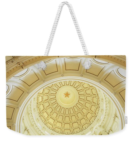 Ceiling Of The Dome Of The Texas State Weekender Tote Bag