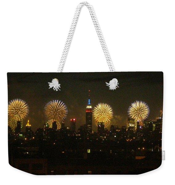 Celebrate Freedom Weekender Tote Bag