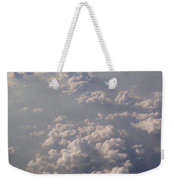 Celestial Cloud Cover Weekender Tote Bag