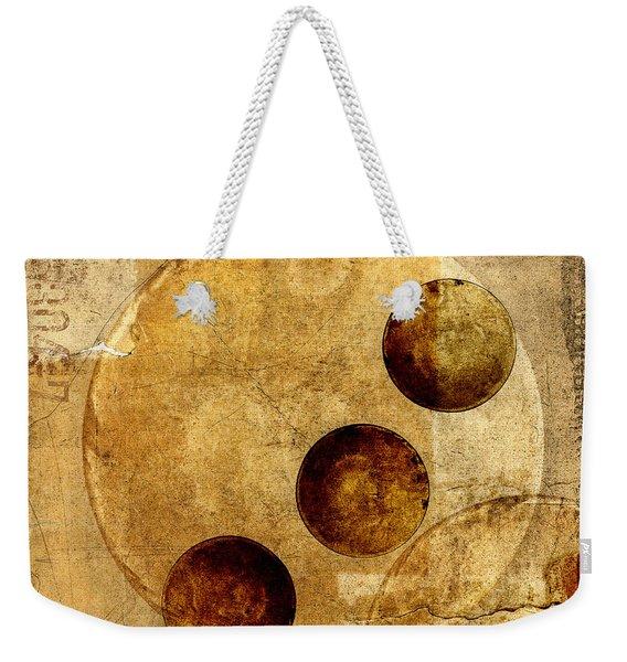 Celestial Spheres Weekender Tote Bag