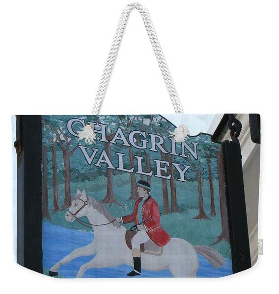 Chagrin Valley Hunt  Club 2 Weekender Tote Bag