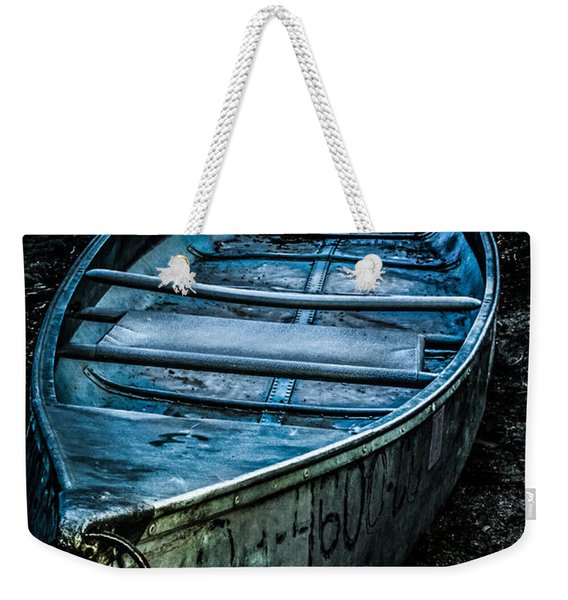 Chained At The Waters Edge Weekender Tote Bag