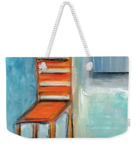 Chair By The Window- Painting Weekender Tote Bag