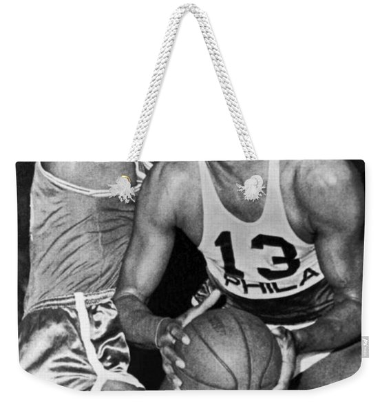 Chamberlain Versus Russell Weekender Tote Bag